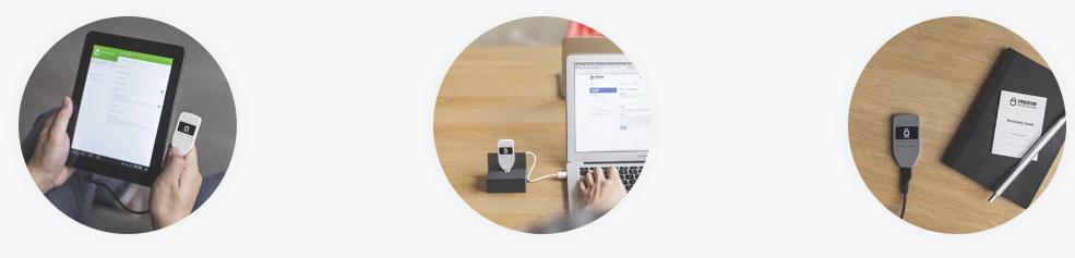 トレザーを使った仮想通貨の送付方法
