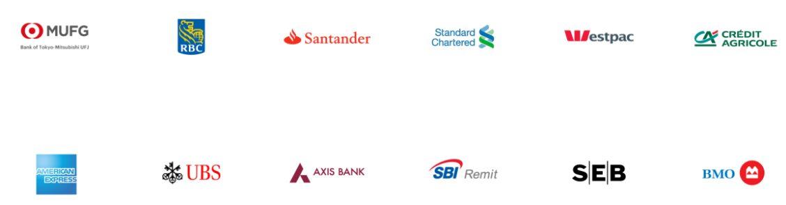 海外の中央銀行提携